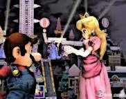 Mario and Peach SSBB cartoon by agentbananayum