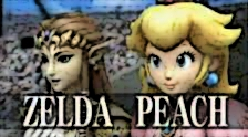 Peach and Zelda SSBB by agentbananayum