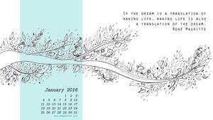 Desktop calendar January16 1366768