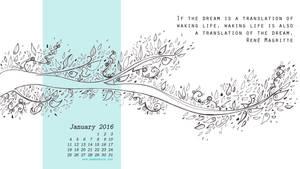 Desktop calendar January16 19201080