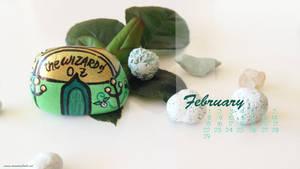 Desktop calendar February 19201080