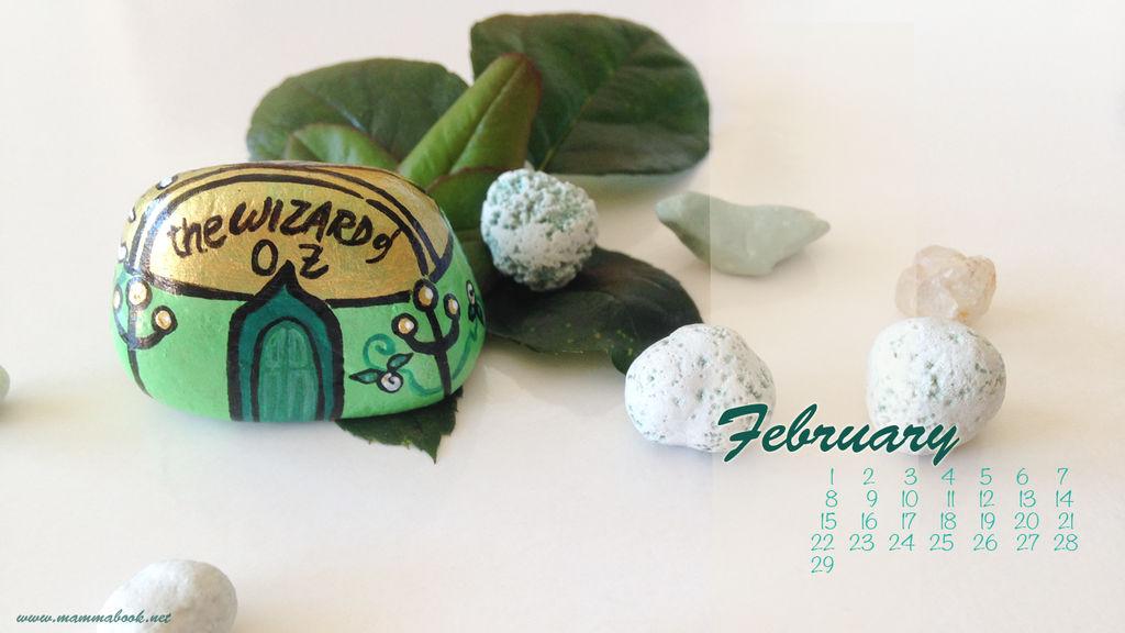 Desktop calendar February16 1366768