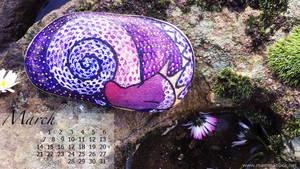 Desktop calendar March 1366768