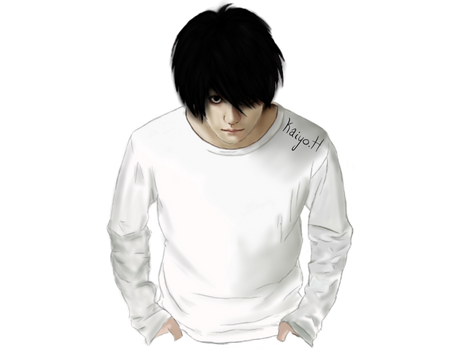 L Lawliet Realistic [Death Note]