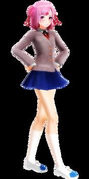 [MMD DDLC] Natsuki