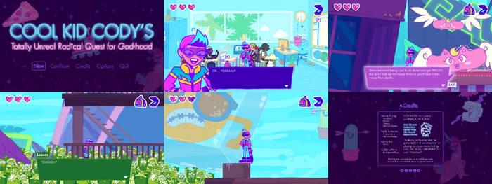 Cool Kid Cody: Totally Unreal Screenshots by GreenMangos