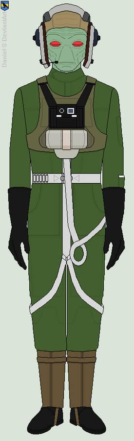 New Republic Neimodian A-Wing Pilot