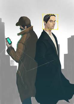 Person of interest and watch_dogs