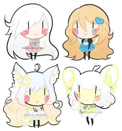 Dollie Chibi Batch 2 by toastilie