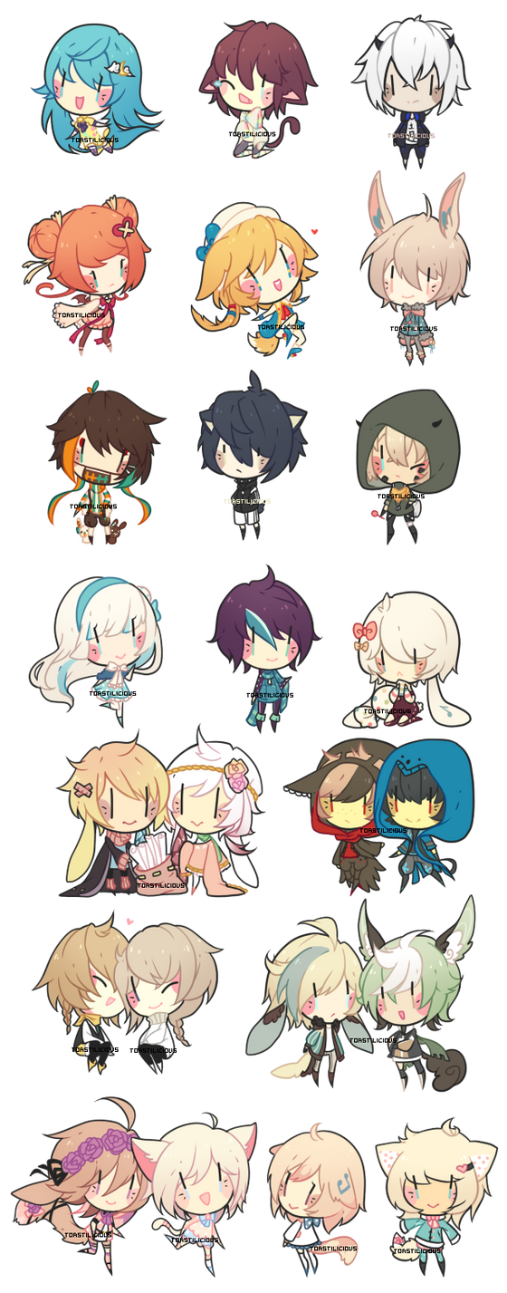 Dollie Chibi Batch 5 by toastilie
