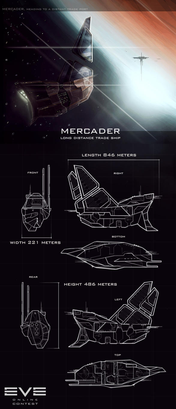 Minmatar Mercader by e-will