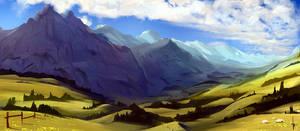 100 - Mountain pasture