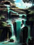 110 - Hidden waterfall