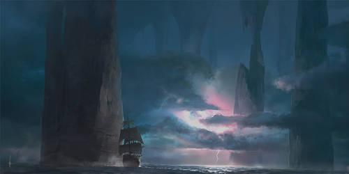 Underground sea by e-will