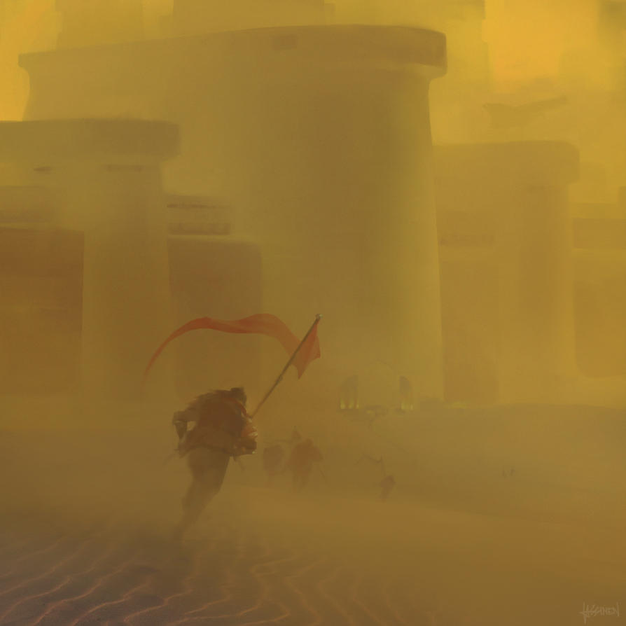 Sandstorm by e-will