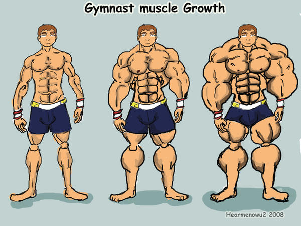 growth Boy story muscle