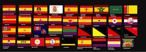 Ideology flags, Spain