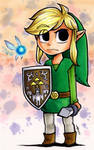 Toon Link and Navi