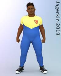 Kamuela Garcia Sports Uniform by Jagerkin