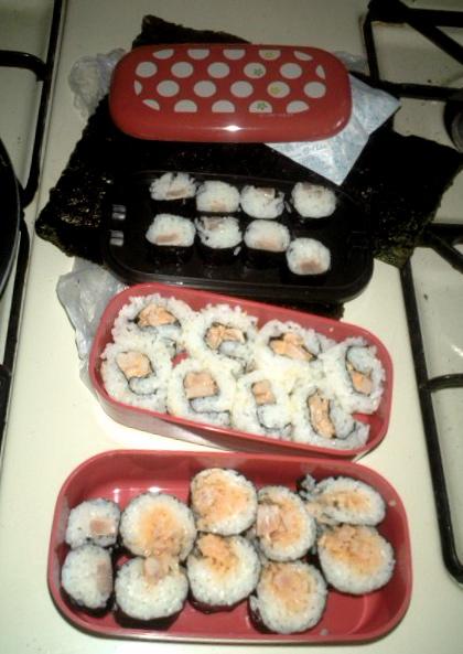 Sushi no Obento by kamirureKun
