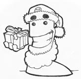 Beardy ready for christmas by the-error404