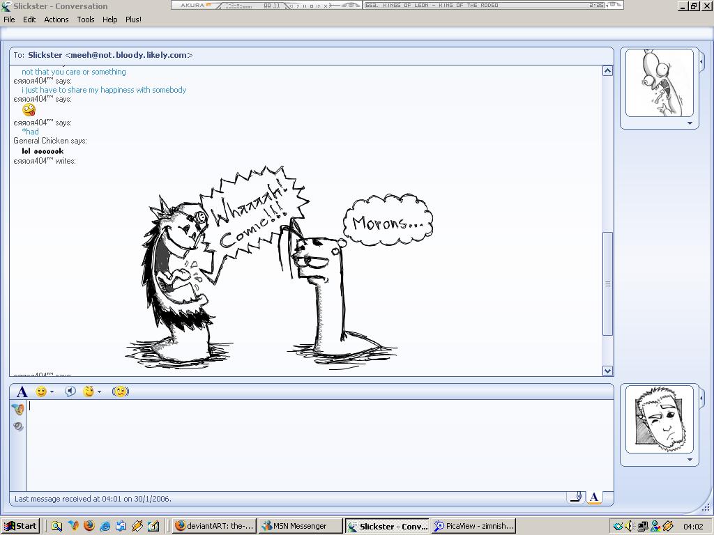 MSN:Comic morons by the-error404