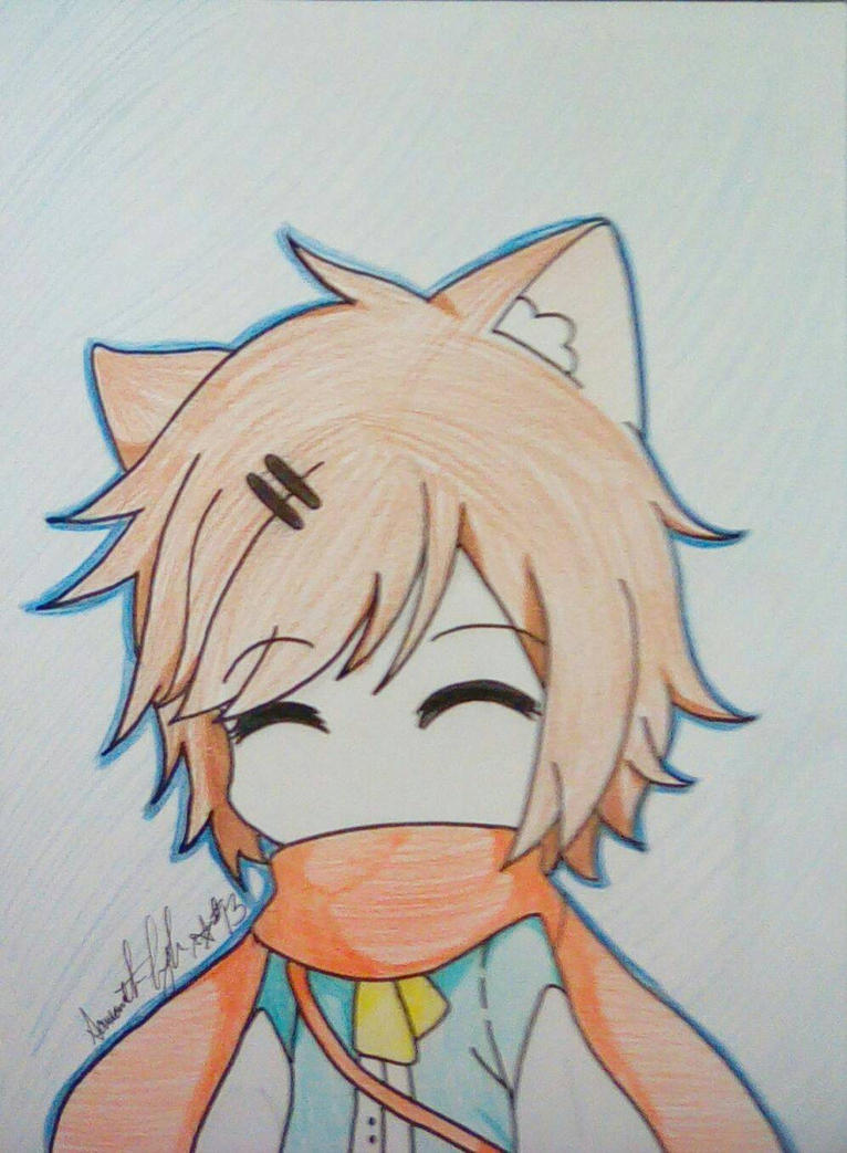 Chibi Cat Boy By AnimeFan2591 On DeviantArt