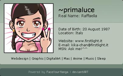FaceYourManga ID
