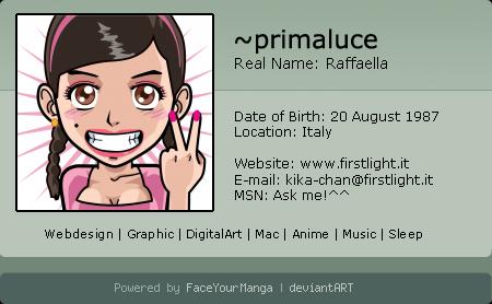 primaluce's Profile Picture