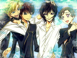 Code Geass - The boys are... by Reironie17