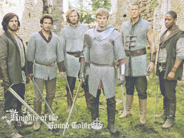 Merlin BBC - Knights by Reironie17