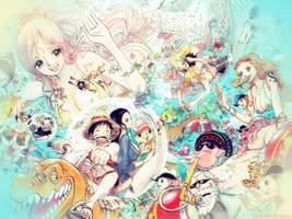 One Piece - Mermaids by Reironie17