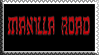 Manilla Road stamp by Kokkirunningdoctor