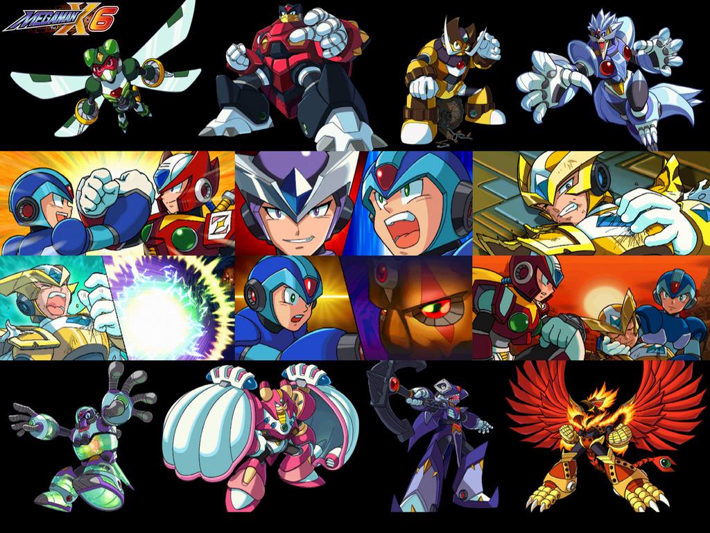 Megaman X6_Collage by Gintoki333Sakata on DeviantArt
