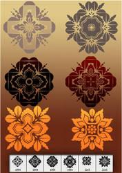 Celetic decorative brush by designersbrush