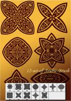 12 set of Arabic brush cs3 by designersbrush