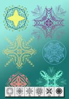 Decorative design motif brush by designersbrush