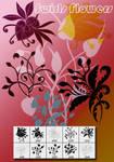 Swrial Flower Shape