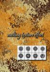 Melting texture effect