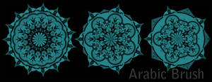 Arabic brush