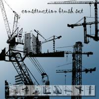 Construction Photoshop Brush by designersbrush