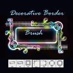 Decorative Border Brush
