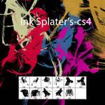 Ink splatter's Brush -CS4