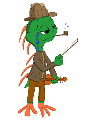 Murloc Holmes by ClockworkHare
