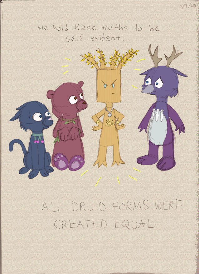 All Druids Were Created Equal by ClockworkHare