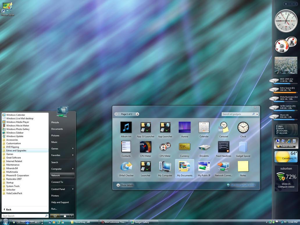 Frebruary 07' Desktop by masterschwag