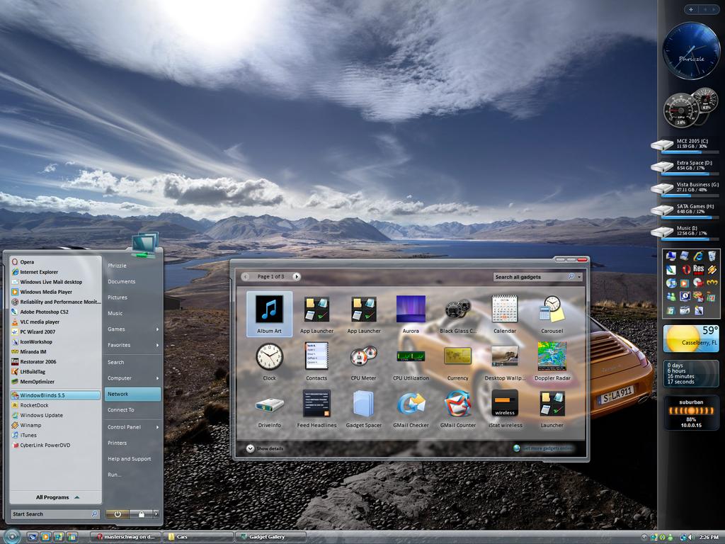 March 07' Desktop by masterschwag