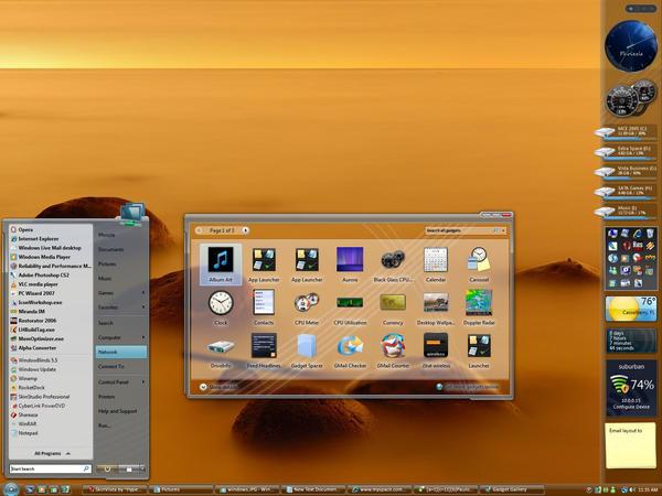April 07' Desktop by masterschwag