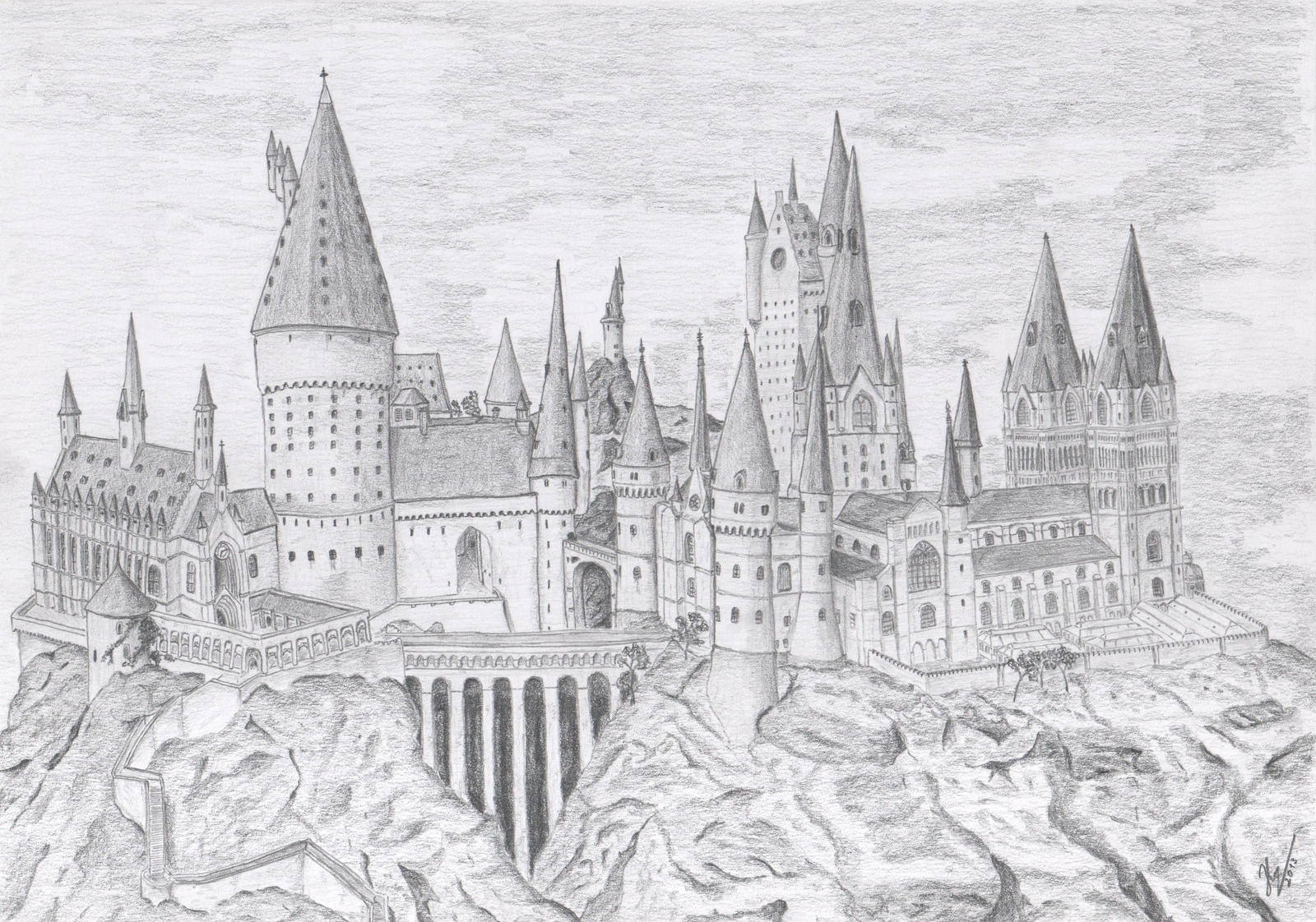 Hogwarts Castle By Skyicok On DeviantArt