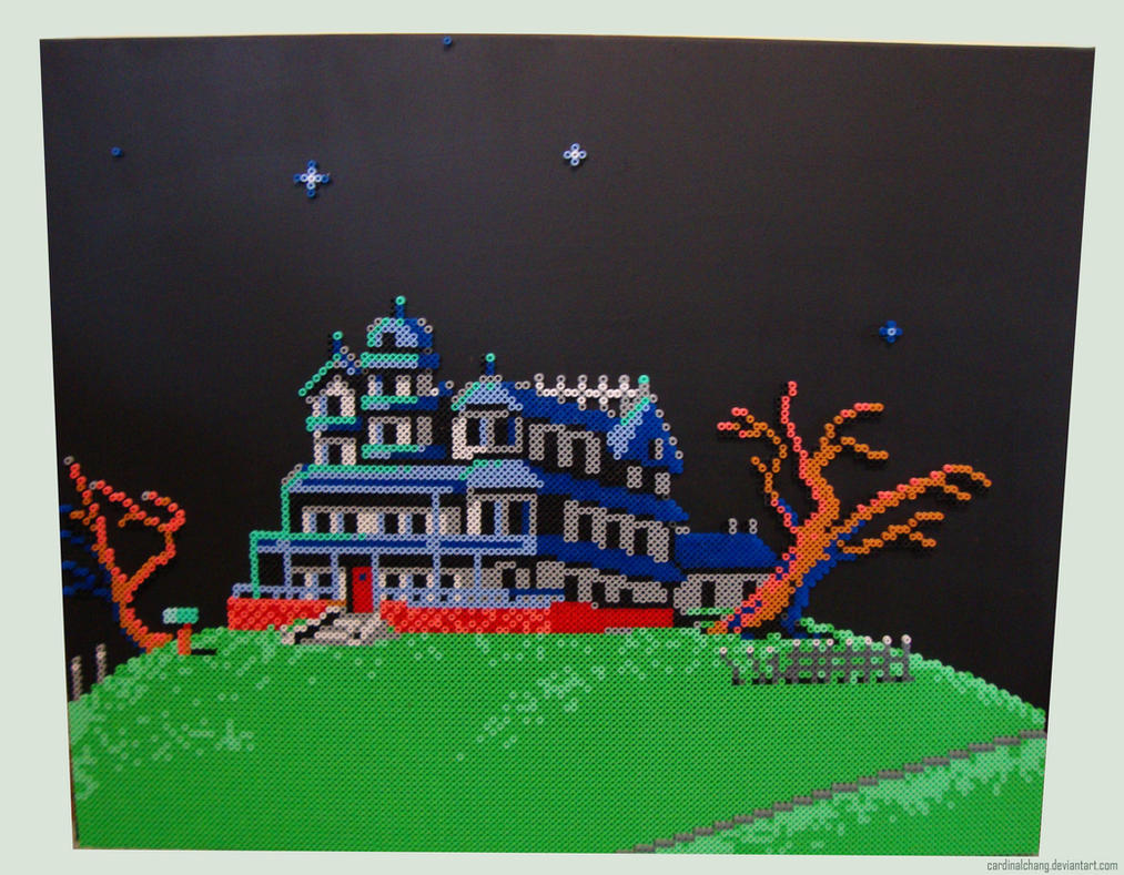 Maniac Mansion by cardinalchang